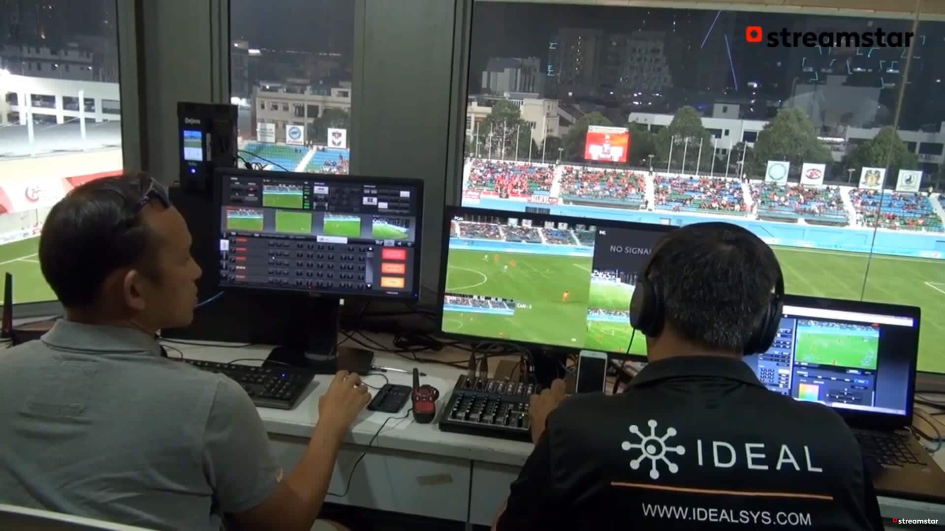 live sports production, Thats the way you do it!