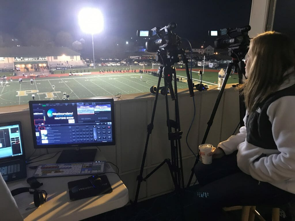 high school, Webcasting high school sports on a pro level