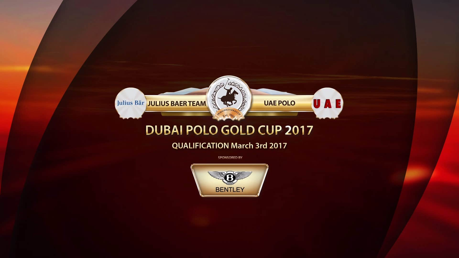 , Polo Gold Cup in Dubai Produced with Streamstar