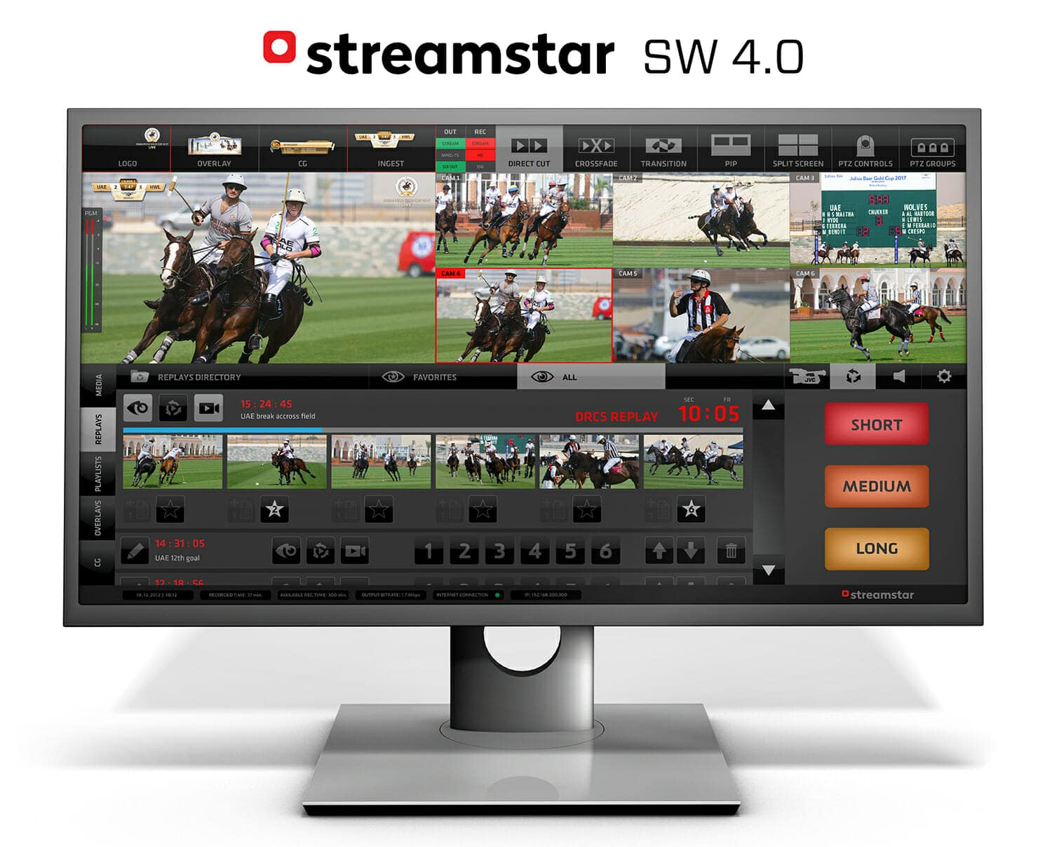 live production, Streamstar SW 4.0 – quick overview