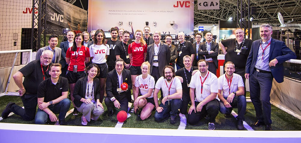 , STREAMSTAR & JVC Pro at IBC 2017