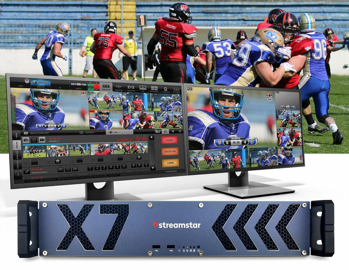 school streaming, NEXT LEVEL high-school live sports productions