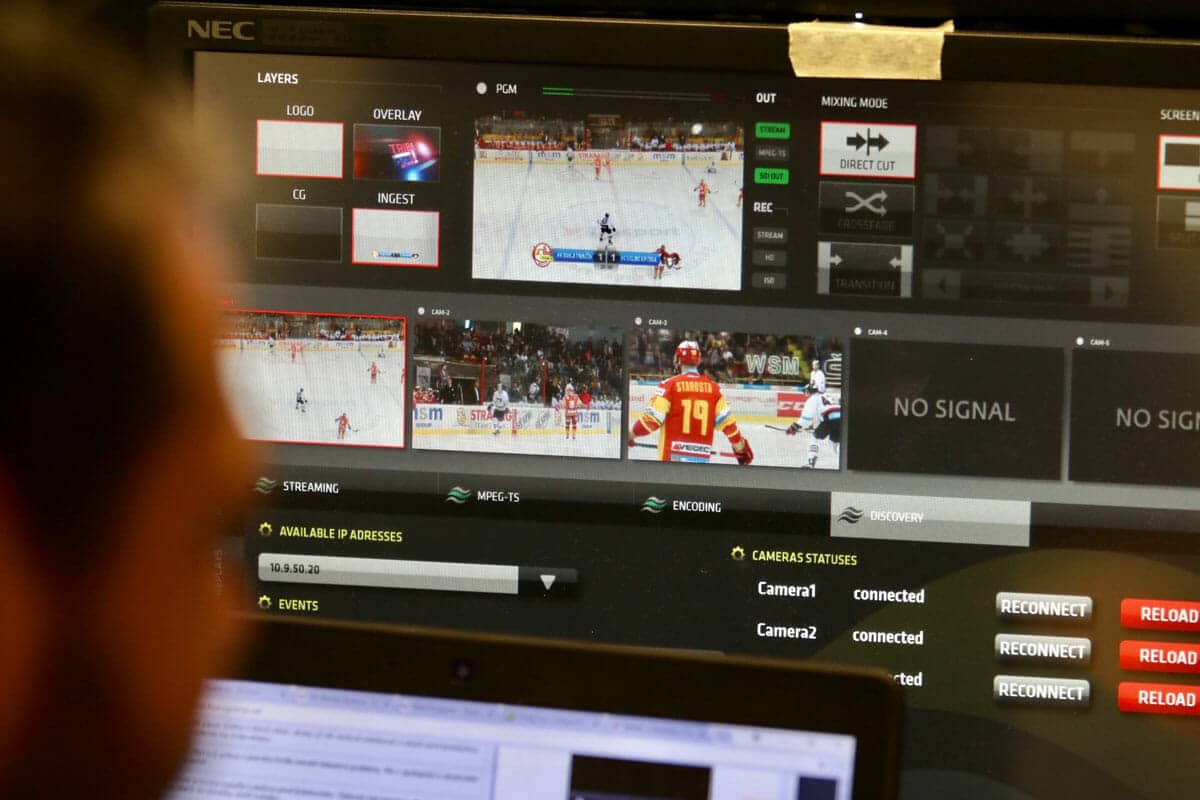 , HUSTE TV – Large Scale Remote Live Sports Production project