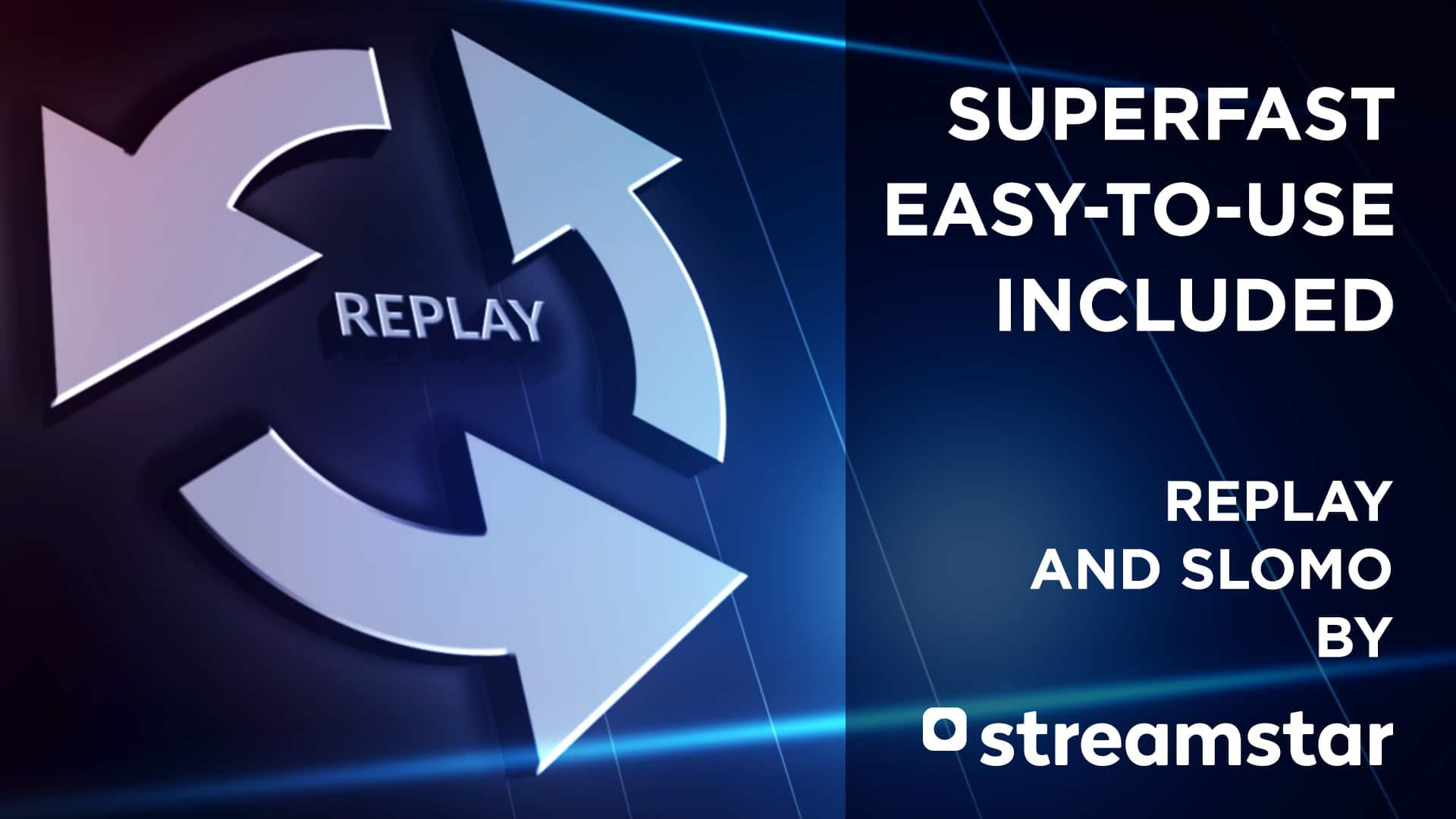 replay, BEST-IN-BUSINESS REPLAY & SLOW MOTION